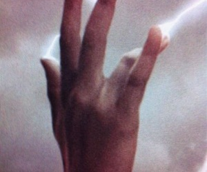 fantasy, hands, and lightning image