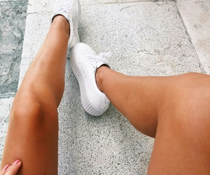 fashion, pretty, and sneakers image