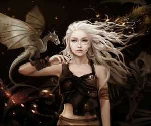 game of thrones and khaleesi image