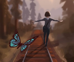 life is strange, max, and butterfly image