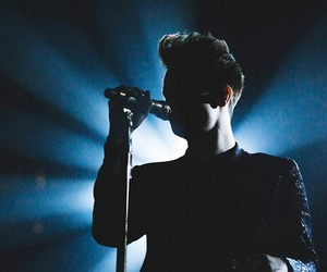 blue, brendon urie, and concert image