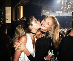 taylor hill, taylor marie hill, and romee strijd image