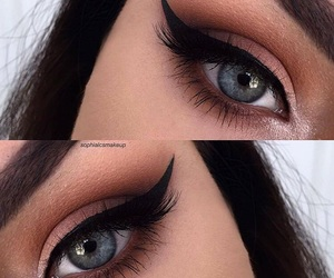 beauty, eyebrow, and eyeshadow image