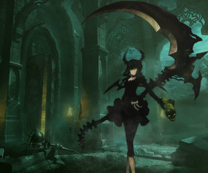 black rock shooter, anime, and dead master image