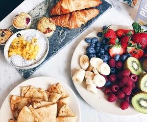 banana, breakfast, and croissant image
