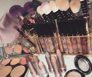 blush, cosmetics, and lipstick image