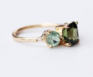 green, jewelry, and luxury image