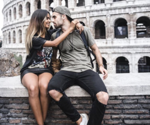 couple, girl, and goals image