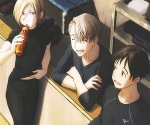 yuri on ice, yuri katsuki, and anime image