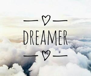 Dream, dreamer, and sky image