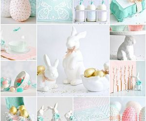 bunnies, candy, and coral image
