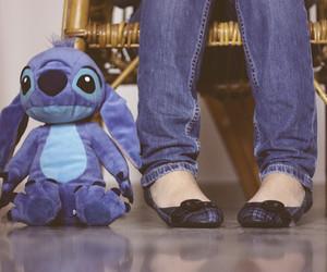 stitch and blue image
