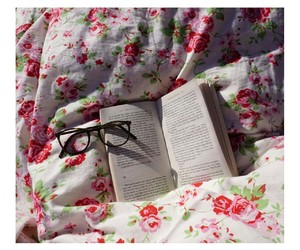 books, flower, and tumblr image