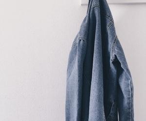 blue, feed, and jacket image