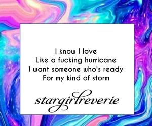 hurricane, quote, and storm image