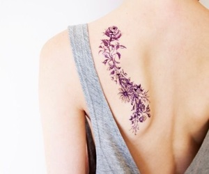 tattoo, flowers, and pretty image