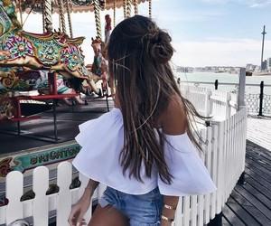 fashion, summer, and hair image
