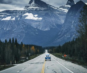 travel, landscape, and mountains image