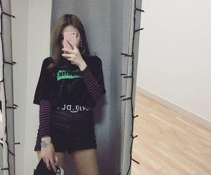 earring, fashion, and korean image