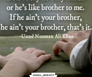 allah, arabic, and brother image