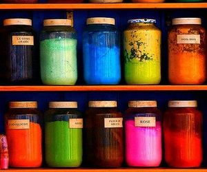 color, jar, and photography image