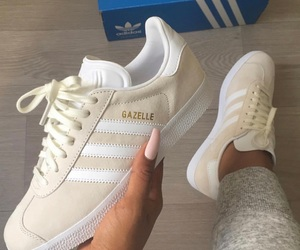 adidas, gazelle, and shoes image