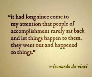 quotes, Leonardo da Vinci, and life image