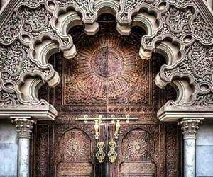 architecture, morocco, and travel image