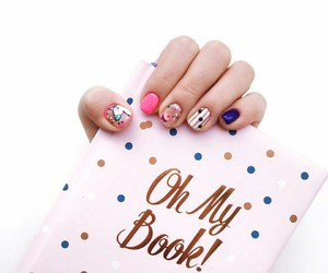 beauty, book, and colourful image
