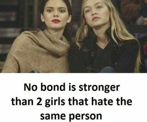 funny, bond, and hate image