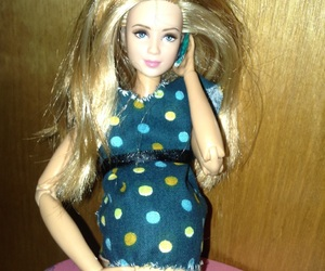 barbie, doll, and pregnant image