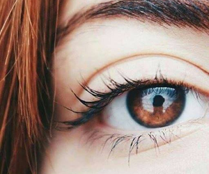 brown eyes image