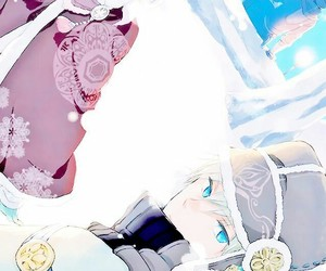 akagami no shirayukihime, anime, and manga image
