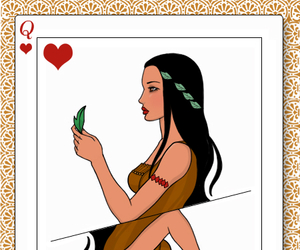 disney, pocahontas, and princess image