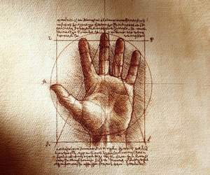 art, drawing, and Leonardo da Vinci image