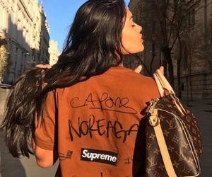 supreme, fashion, and girl image