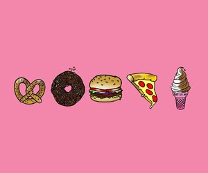 food, wallpaper, and pink image