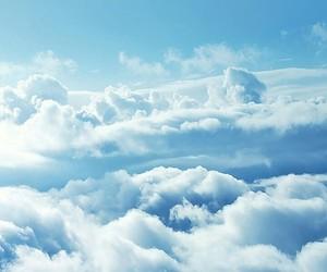 cloud, sky, and tumblr image