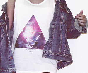 jeans, triangle, and awesome image