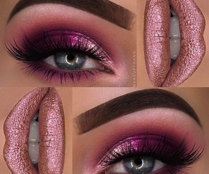 beautiful, beauty, and eye makeup image