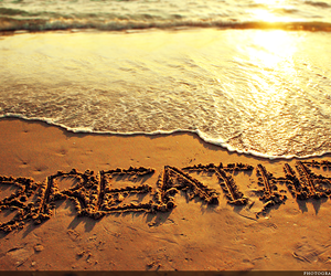 beach, breathe, and relax image