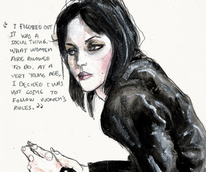joan jett, art, and women image