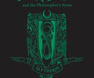 harry potter, house, and slytherin image