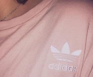 adidas, girl, and pink image