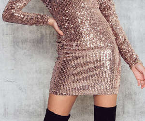 fun, pink, and sequins image
