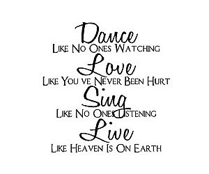 text, dance, and love image
