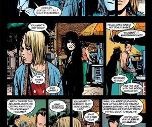 comic, the sandman, and death image