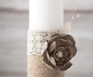etsy, wedding centerpiece, and wedding pillars image