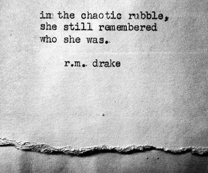 quotes, she, and rmdrake image