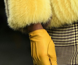 fashion, haute couture, and yellow image